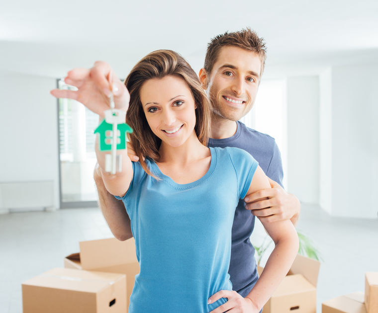 mortgage loans, mortgage loan - family in new house